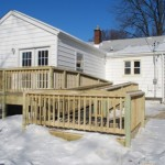 permanent wood ramp
