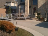 Aluminum Modular Ramp for Front of Home