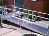 Front Entry Aluminum Modular Ramp