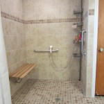 Wetroom with Shower Bench