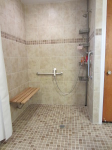 Wet Room With Shower Bench